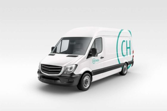 CH Meds vehicle livery design
