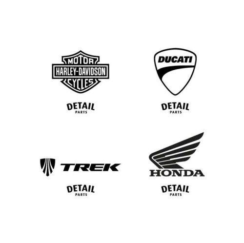 Detail Parts Logo with Brands