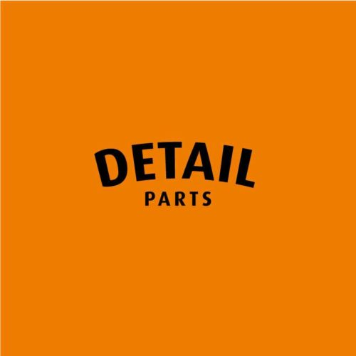 logo detail parts square orange