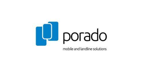 Porado Telecommunications Brand Identity Logo Design