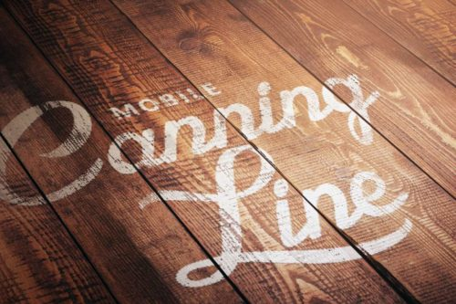 Mobile Canning Line Signage Design